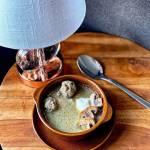 Ekspresowa zupa pieczarkowa z mięsną wkładką