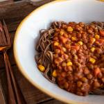 Wegański sos a'la bolognese