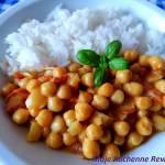 Wegańskie curry z ciecierzycy