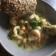 Curry z kurczakiem i soczewicą