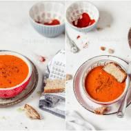 Krem pomidorowy z wędzoną papryką / Tomato cream with smoked paprika