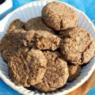 Maślane ciasteczka owsiane z mąką lnianą
