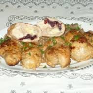 Roladki z udek kurczaka