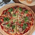 błyskawiczna pizza na spodzie z tortilli