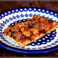 Pizza z kurczakiem