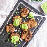 Pieczone ziemniaczki z zielonym pesto