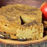 Sypana szarlotka (bez glutenu, cukru białego, laktozy, wegańska)