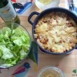 Przepis na prostą ziemniaczaną zapiekankę w stylu francuskim, czyli tartiflette z serem raclette