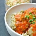 Pulpeciki ziołowe w sosie pomidorowym z cukinią FIT