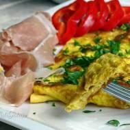 Klasyczny omlet francuski