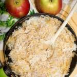 Szybki ryż z jabłkami i cynamonem