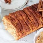 ciasto drożdżowe z cynamonem do odrywania