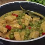 Kurczak curry w mleku kokosowym