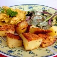 Aromatyczny kurczak curry z polskim akcentem.