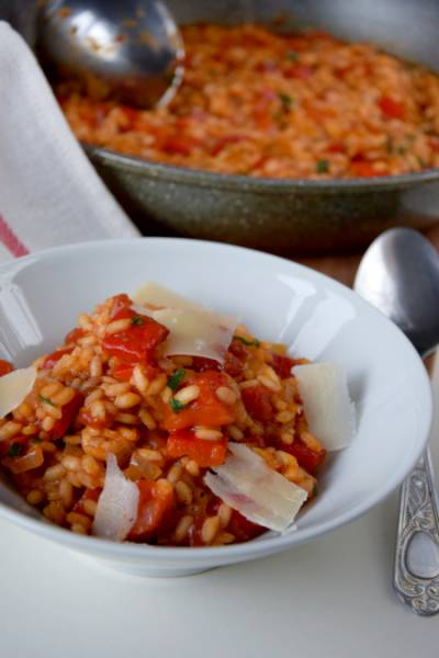 Risotto paprykowe