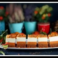 Ciasto marchewkowe z sernikiem na zimno