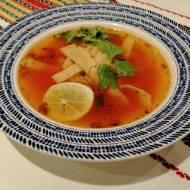 Meksyk - Zupa z limonką (Sopa de lima)