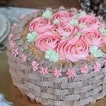 tort czekoladowo śmietanowy z wiśniami