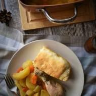Pieczeń pod ciastem drożdżowym – kuchnia podkarpacka