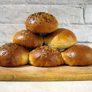 Bułki hamburgerowe z kleikiem tangzhong