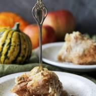Kasza jaglana zapiekana z jabłkami i cynamonem