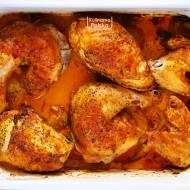 Rumiany kurczak z sosem pieczeniowym. Palce lizać! PRZEPIS