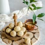 Orzechowo-ciasteczkowe kuleczki jaglane z 4 składników