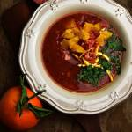 Zupa z pomidorów i pomarańczy