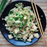 Keto fried rice (Paleo, LowCarb)
