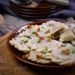 Pierogi z kaszą gryczaną i grzybami – kuchnia podkarpacka
