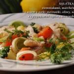 Sałatka z dorszem