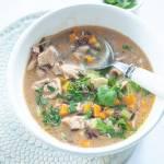 Zupa z kurczakiem i ryżem