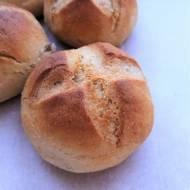 Bułki orkiszowe z mąką jaglaną / Spelt Millet Kaiser Rolls