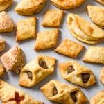Ciasteczka twarogowe a'la francuskie (3 składniki)