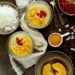 Budyń pomarańczowy jaglany