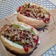 Domowe hotdogi z warzywami