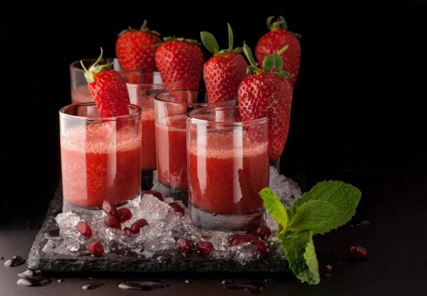 Strawberry Cooler