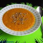 Zupa krem marchewkowo - porowy