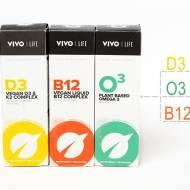 Wegańskie omega 3, D3 i K2 oraz B12 – Vivo Life (Siła Roślin)