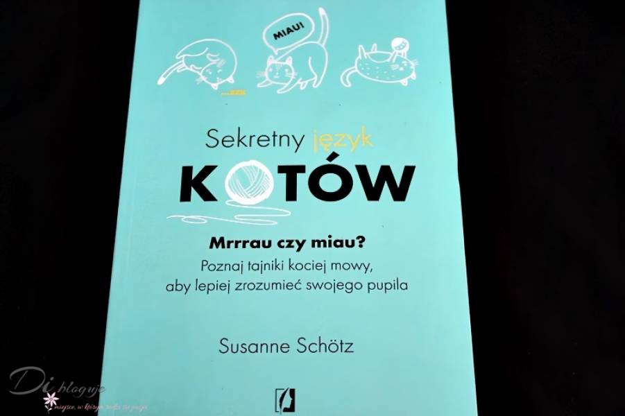 Sekretny język kotów Susanne Schötz - recenzja