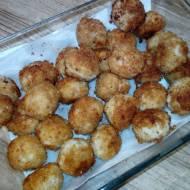 Mini kotleciki mięsno - ryżowe