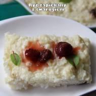 Ryż zapiekany z twarogiem