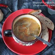 Wegańska zupa à la flaki