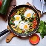 PROJEKT ŚNIADANIE: Jajka z warzywami na indyjską nutę