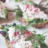 Sałatka  z tuńczykiem i rzodkiewkami