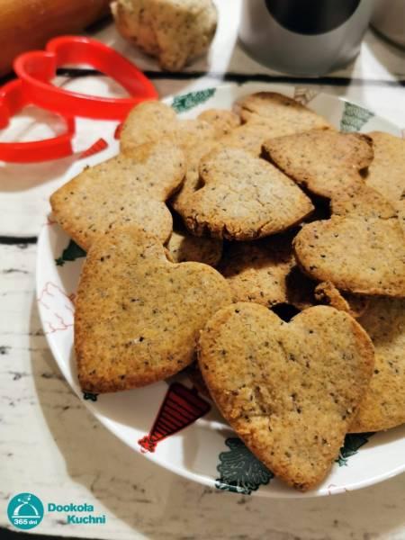 Cytrynowe ciasteczka z nasionami chia