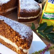 Ciasto marchewkowe z serkiem śmietankowym
