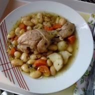Zupa fasolowa na kurczaku