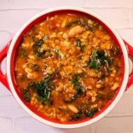 Danie dnia: Zupa toskańska z soczewicą i fasolą