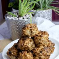 Owsiane muffinki z jabłkiem, bez cukru
